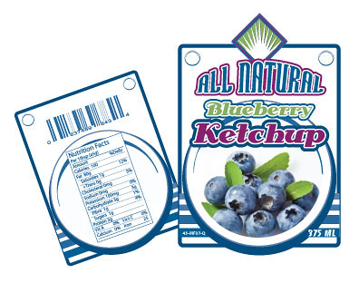blueberry-ketchup_label | Flickr - Photo Sharing!