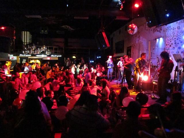 The house band at Kukaramakara Club