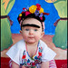Beautiful Frida Kahlo Baby Portrait by Rachel Starmer