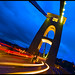Bristol - Light Trails on Clifton Suspension Bridge