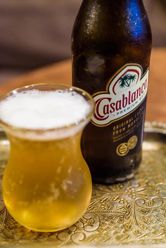 Casablanca,Moroccan beer