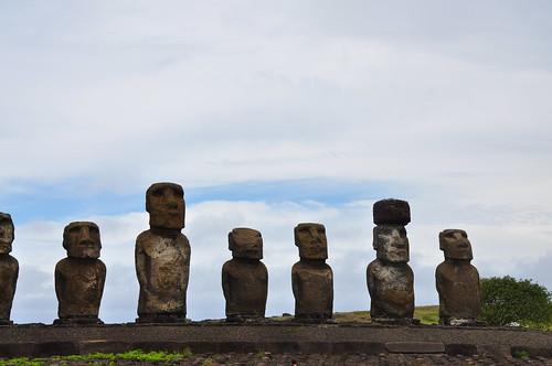Moai, Ahu Tongariki, Easter Island