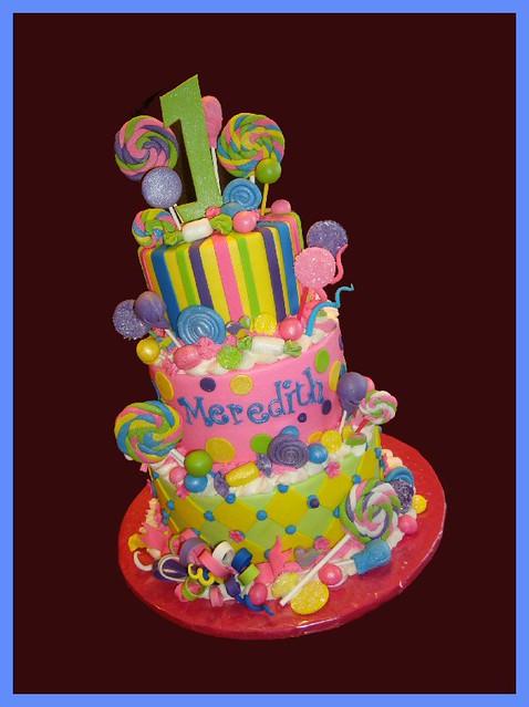 candyland cake - a gallery on Flickr