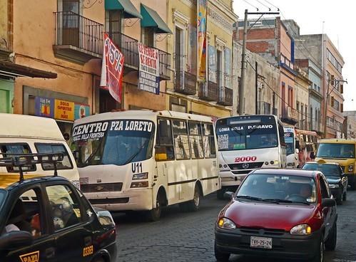 F04 Puebla traffic