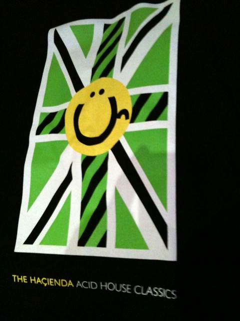 The ha ienda acid house classics t shirt front simon for Acid house classics