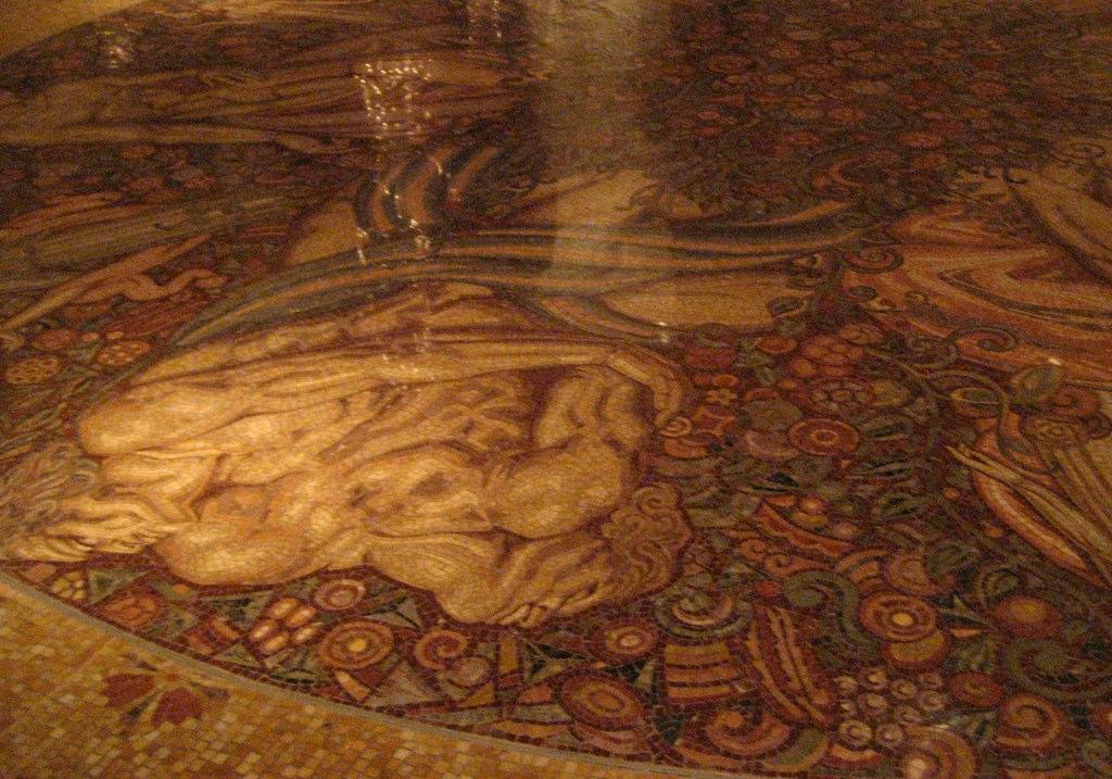Waldorf Astoria Mosaic Floor