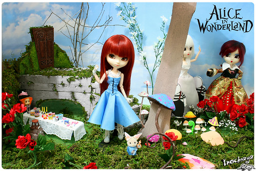 Yoko in Wonderland, a film by Tim Burton