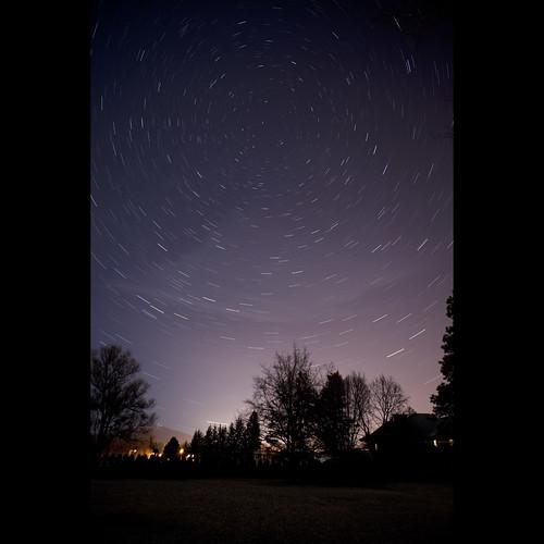 canada stars bc britishcolumbia kelowna startrails 3652010 okanagan365