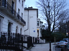 Photo of Gilbert Keith Chesterton blue plaque