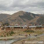 Washing in the Stream - Puno, Peru to Copacabana, Bolivia
