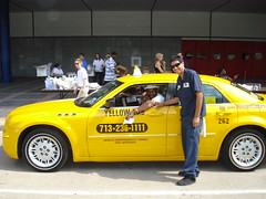 Houston Yellow Cab Taxi Chrysler 300
