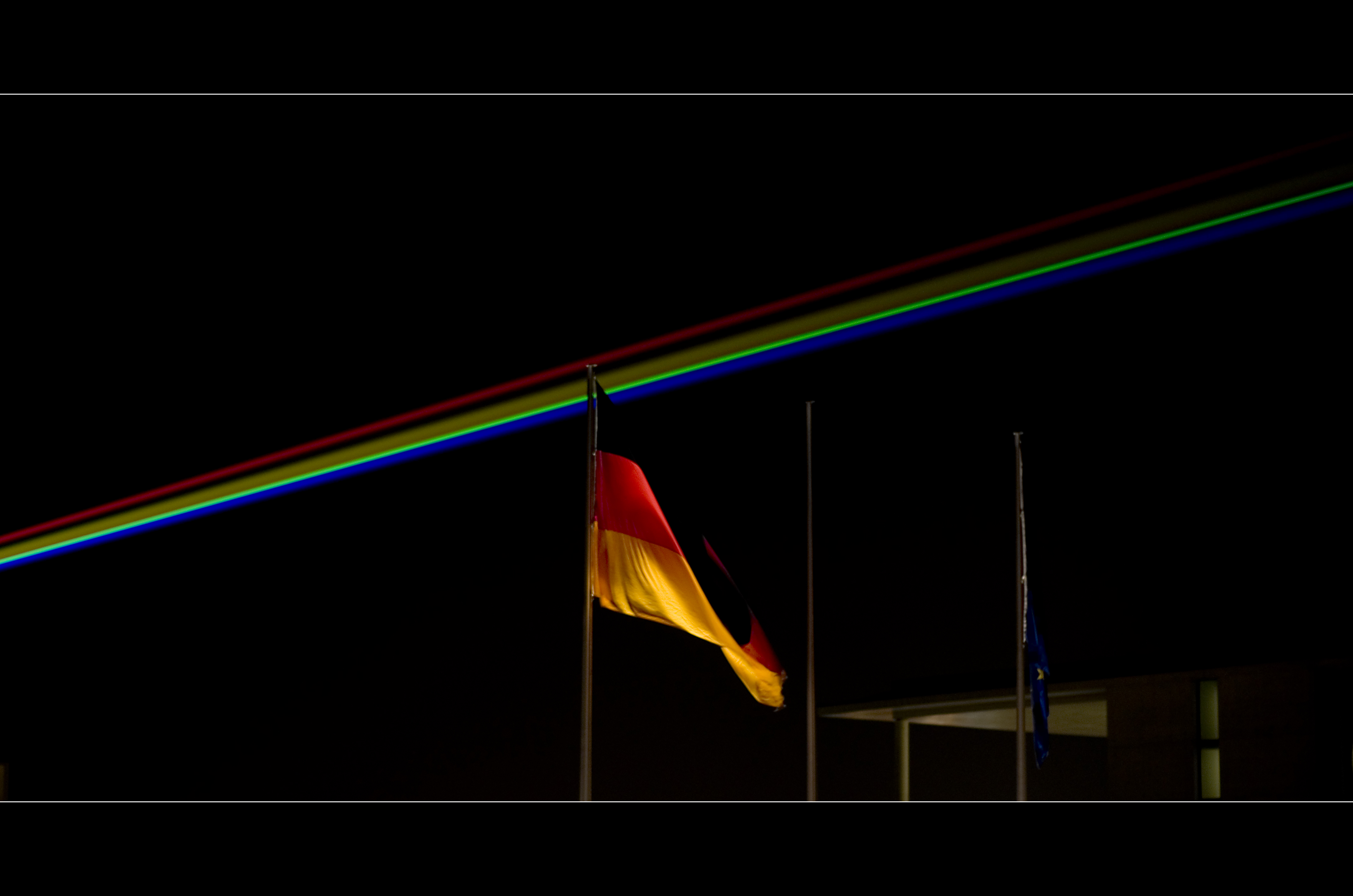 Darkside of the German Flag