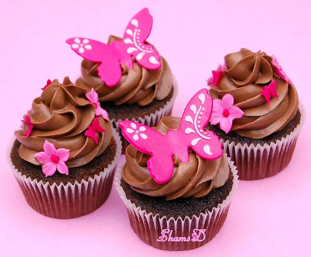 Butterfly Cupcake Images : Butterfly Cupcakes Explore ~Tres Chic Cupcakes by ShamsD ...