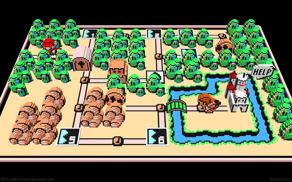 Mario 3 World Map.Super Mario Bros 3 World 1 Map Since Flickr Resizes All My Flickr