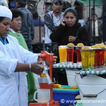Juice Woman - La Paz, Bolivia
