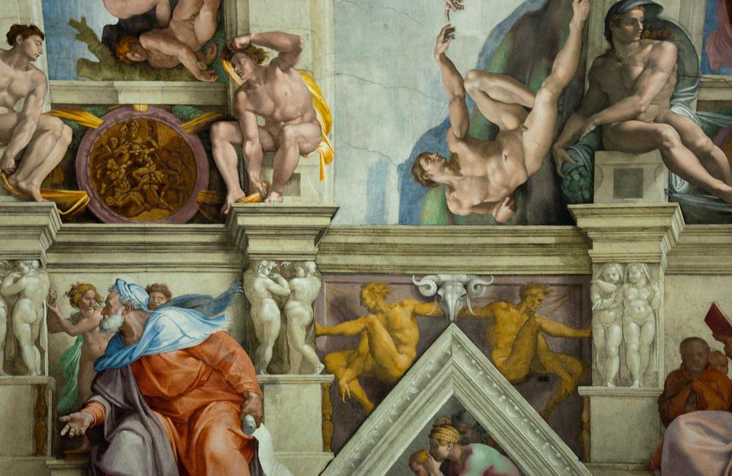 Sistine Chapel frescoes