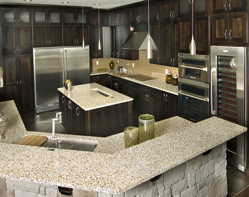Alternatives To Granite Countertops : Vetrazzo alternative to granite countertops (66) Flickr - Photo ...