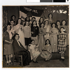 Emanuel Cohen Girl Scout Troop 140, 1944