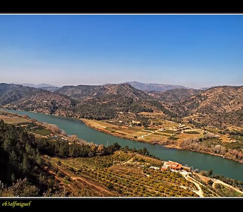 río spain agua paisaje cielo