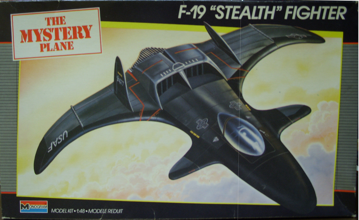 Monogram F-19 Stealth Fighter