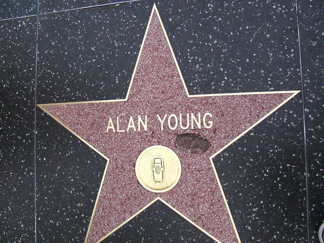 Header of Alan Young