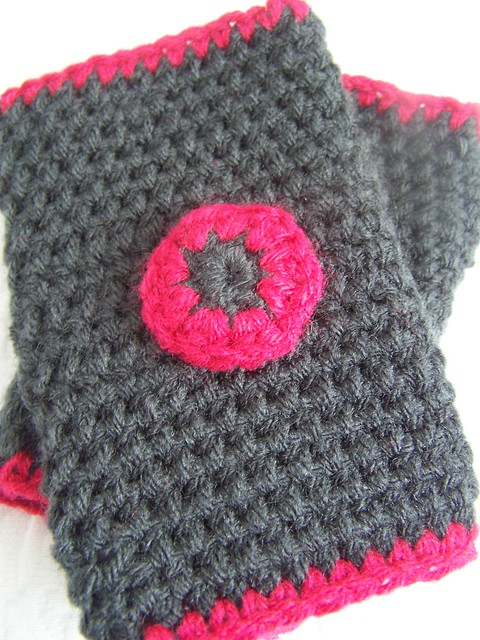Red Heart Knitting Pattern Mittens : Crochet Mitten Patterns F Free Patterns For Crochet