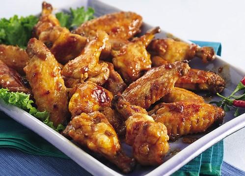 Cinco de Mayo Glazed Chicken Wings