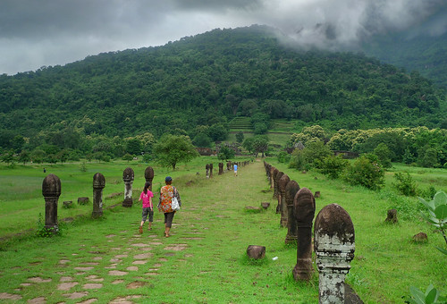 The entree of Vat Phou