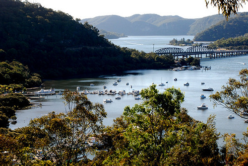 NEW Hawkesbury River and Pittwater : AFN Fishing Map 29 By Bill Classon