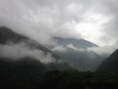 雄偉的中央山脈