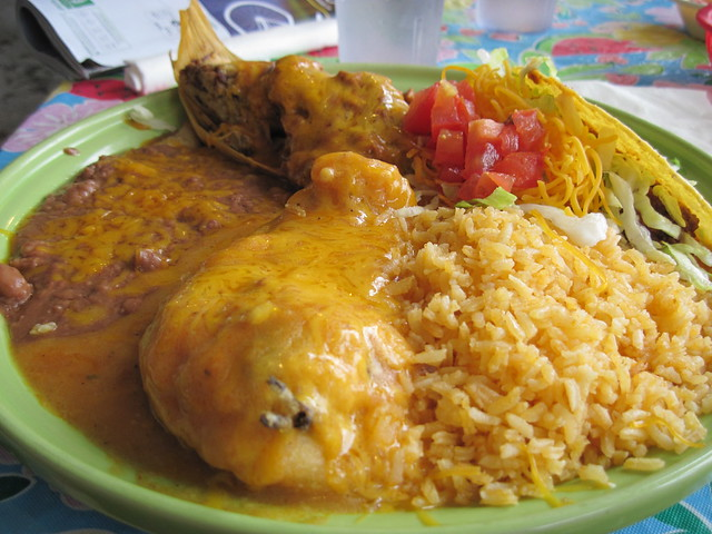 My mexican food dish before flickr photo sharing - Mexican american cuisine ...