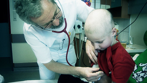 Auf der Onkologie