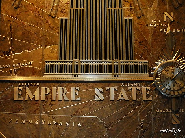 Empire State Plaque