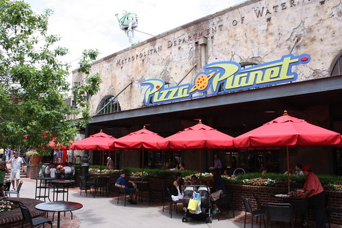 Pizza Planet at Hollywood Studios
