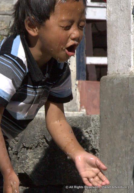 Nepali Boy - Annapurna Circuit Trek - Nepal