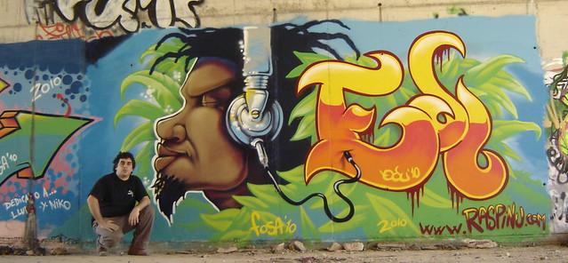 graffiti-rasta-el-vendrell-2010-posando | Flickr - Photo ...
