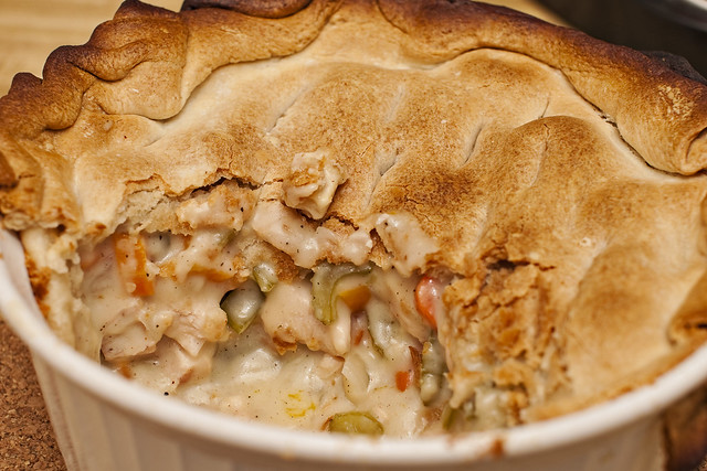 Deep Dish Chicken Pot Pie | Flickr - Photo Sharing!