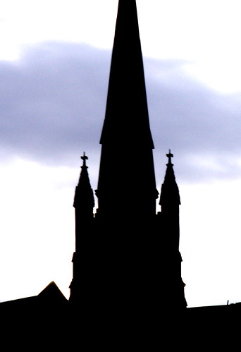 Tacoma Catholic Church spire