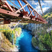 Kawarau Suspension Bridge, Queenstown  (Hot Spot for Bungy Jumping :)) :: HDR :: Vertorama by :: Artie | Photography ::