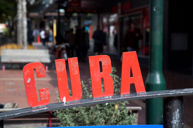 Cuba Street Mall