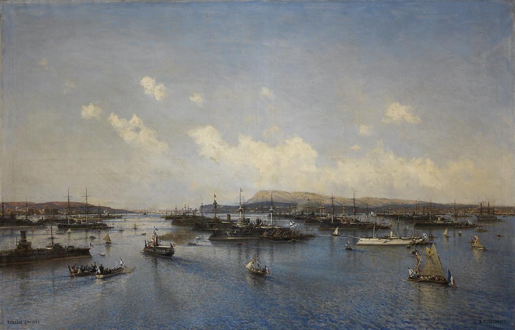 L'escadre russe à Toulon, octobre 1893-1895