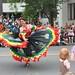 dancing in parade