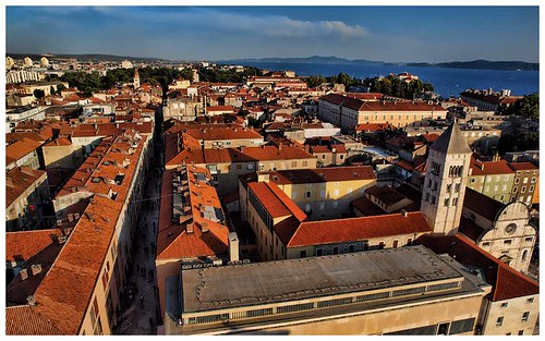A view of Zadar, Croatia.