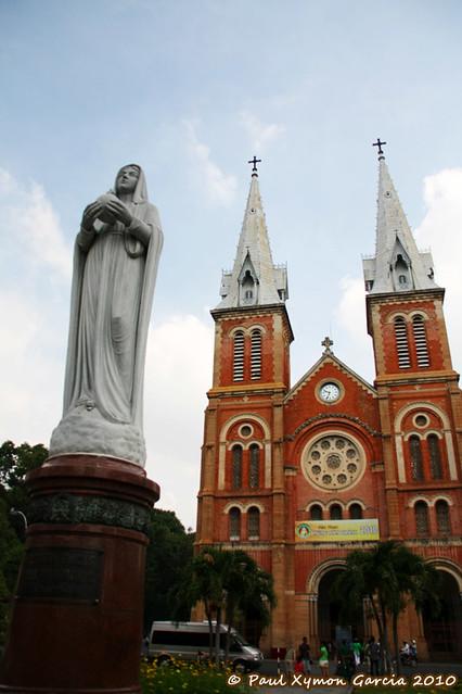 Saigon Notre Dame Basilica (Facade)