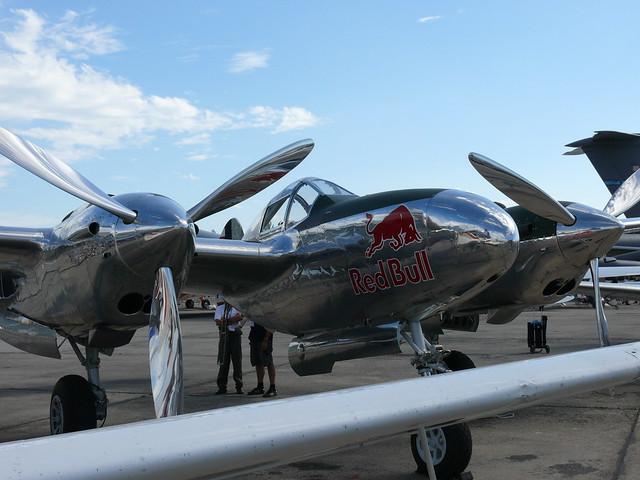 Flying Bulls P-38L Lightning