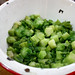 cut broccoli chunks