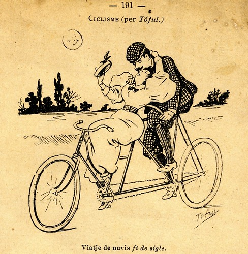 Barcelona Bicycles. End of century honeymoon | by Valeshel