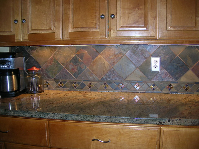 kitchen backsplash 35 flickr photo sharing gallery for gt gray slate tile backsplash