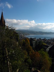 Battlements and north Lucerne