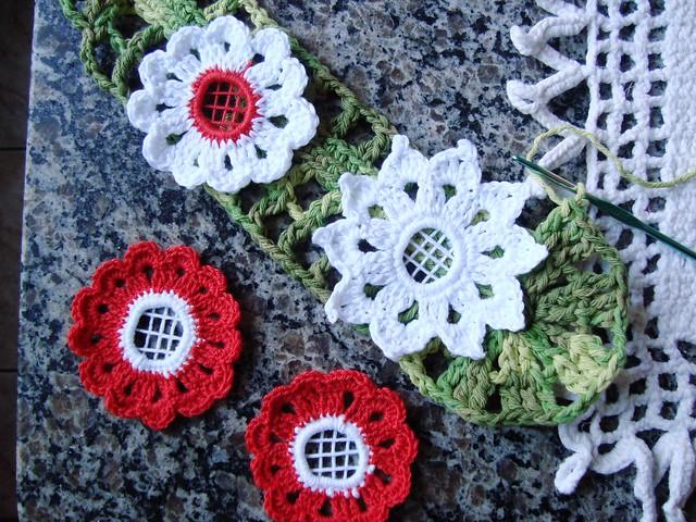 flores de croche Flickr - Photo Sharing!